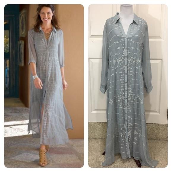 f48003fd1b61 Soft Surroundings Dresses | New Ibiza Dress Slip | Poshmark